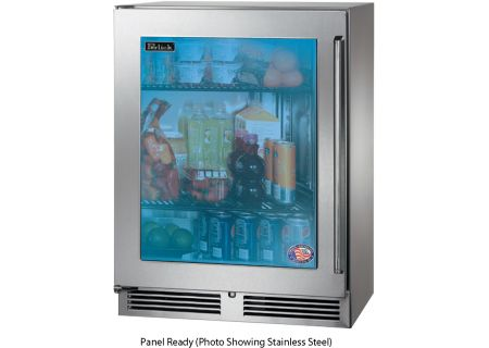 """Perlick 24"""" Wood Overlay Signature Series Sottile Indoor Refrigerator - HH24RS-3-4L"""