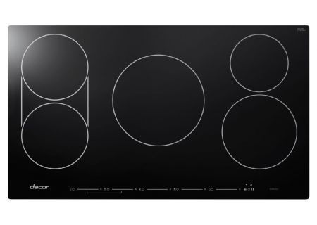 """Dacor Heritage 36"""" Black Induction Cooktop - HICT365BG"""