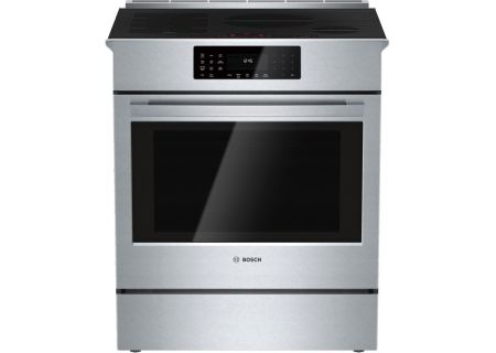 "Bosch 30"" Benchmark Series Stainless Steel Slide-In Induction Range  - HIIP055U"