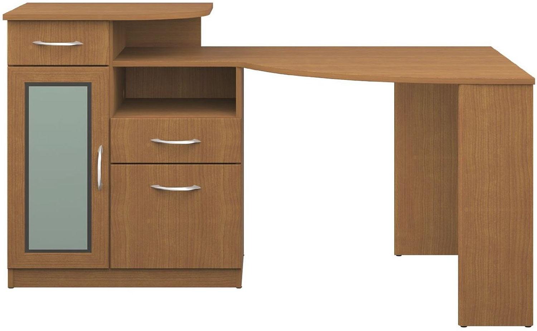 Bush Furniture Light Dragonwood Corner Desk Hm66315a 03