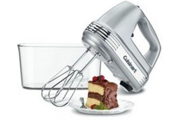 Cuisinart Power Advantage PLUS 9-Speed Brushed Chrome Hand Mixer - HM-90BCS