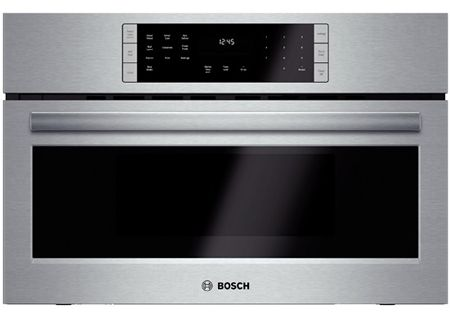 """Bosch 800 Series 30"""" Stainless Steel Convection Speed Built-In Microwave Oven - HMC80151UC"""
