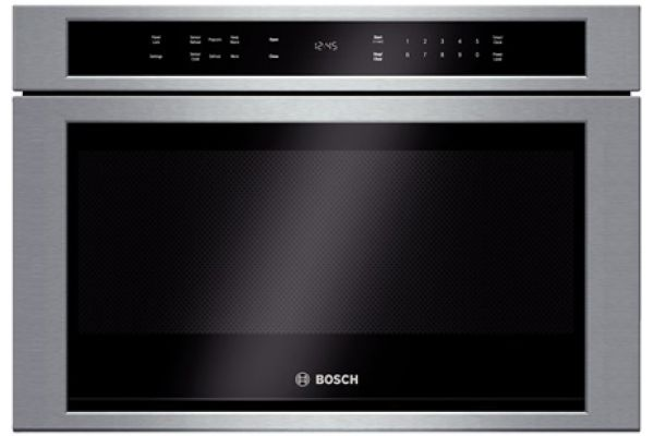 Bosch 800 Series Stainless Steel Drawer Microwave - HMD8451UC