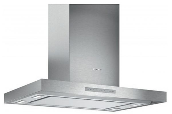 """Large image of Thermador 36"""" Masterpiece Series Low-Profile Aluminum Island Hood With Blower - HMIB36WS"""