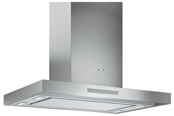 """Large image of Thermador 42"""" Masterpiece Series Low-Profile Aluminum Island Hood With Blower - HMIB42WS"""
