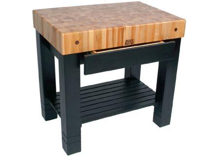 John Boos - HMST3624-BK - Carts & Cutting Boards