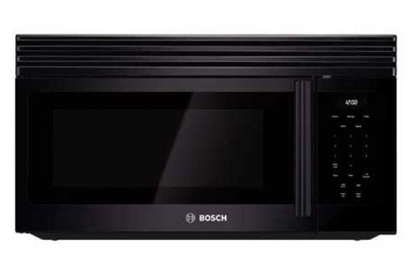 "Bosch 30"" 300 Series Over-The-Range Black Microwave - HMV3062U"
