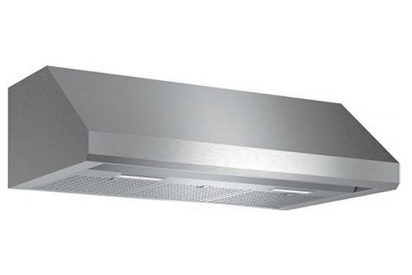 """Large image of Thermador 36"""" Masterpiece Series Low-Profile Stainless Steel Wall Hood With Blower - HMWB36WS"""