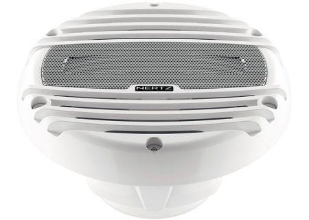 "Hertz 6.5"" White Marine RGB LED Coaxial Speakers - HMX6.5LD"