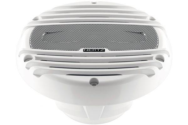 """Large image of Hertz 6.5"""" White Marine RGB LED Coaxial Speakers - HMX6.5LD"""