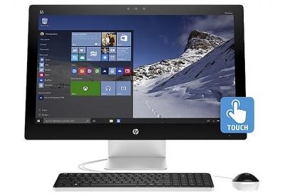 "HP Pavilion 27"" Black All-In-One Desktop Computer - 27-N110"