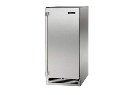 "Perlick Signature Series 15"" Solid Stainless Steel Door Right Hinged Indoor Beverage Center - HP15BS-3-1R"