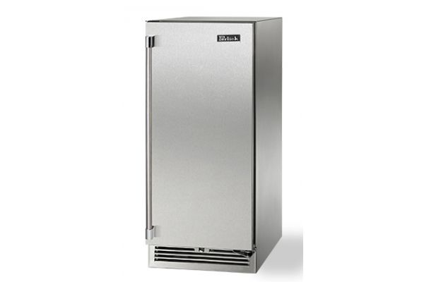"""Perlick 15"""" Stainless Steel Signature Series Outdoor Refrigerator  - HP15RO-3-1R"""