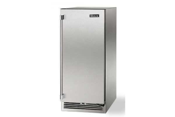 """Large image of Perlick 15"""" Signature Series Stainless Steel Right-Hinge Indoor Refrigerator - HP15RS-3-1R"""