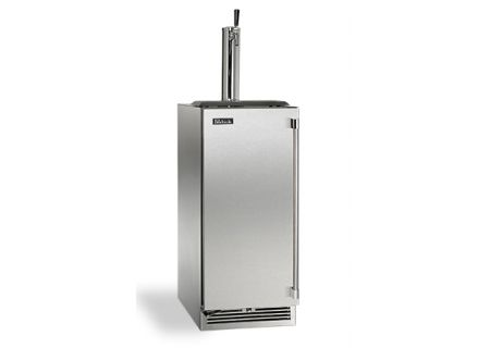 "Perlick 15"" Stainless Steel Signature Series Outdoor Beer Dispenser  - HP15TO-3-1L"