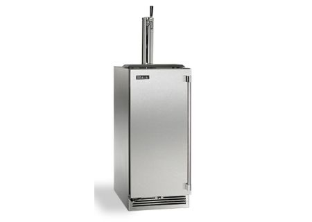 "Perlick 15"" Stainless Steel Signature Series Indoor Beer Dispenser  - HP15TS-3-1L"