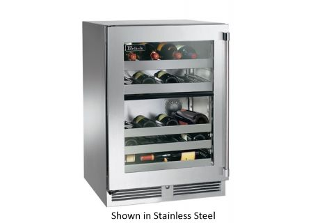Perlick - HP24DS-3-4L - Wine Refrigerators and Beverage Centers