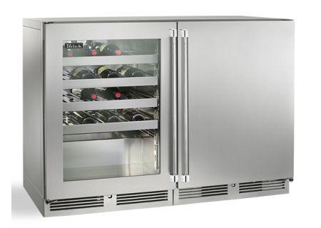 Perlick - HP48WW-S-3-1L-3R - Wine Refrigerators and Beverage Centers