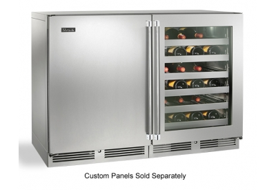 Perlick - HP48WW-S-3-2L-4R - Wine Refrigerators and Beverage Centers