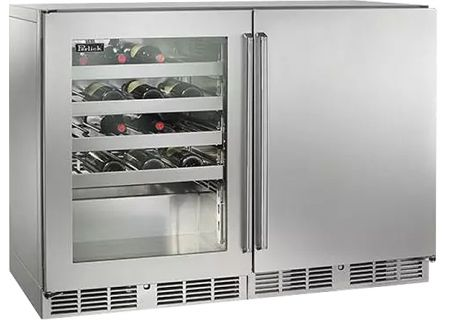 Perlick - HP48WW-S-3-3L-1RC - Wine Refrigerators and Beverage Centers