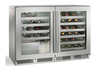 Perlick - HP48WW-S-3-3L-3R - Wine Refrigerators and Beverage Centers