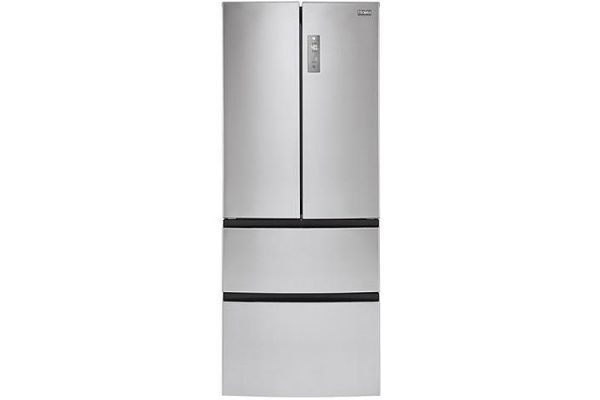 Large image of Haier 15 Cu. Ft. Stainless Steel French-Door Refrigerator - HRF15N3AGS