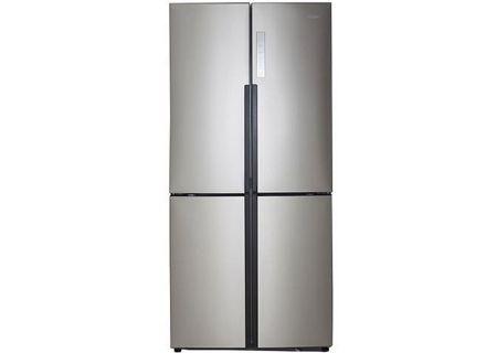 Haier - HRQ16N3BGS - French Door Refrigerators