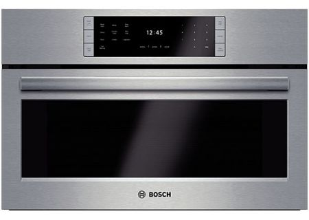 "Bosch 30"" Benchmark Series Built-In Stainless Steel Steam Convection Oven - HSLP451UC"