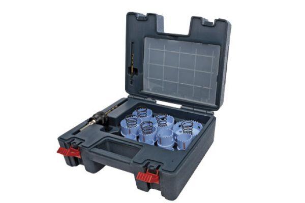 Large image of Bosch Tools 23 Piece Sheet Metal Hole Saw Set - HSM23PCM