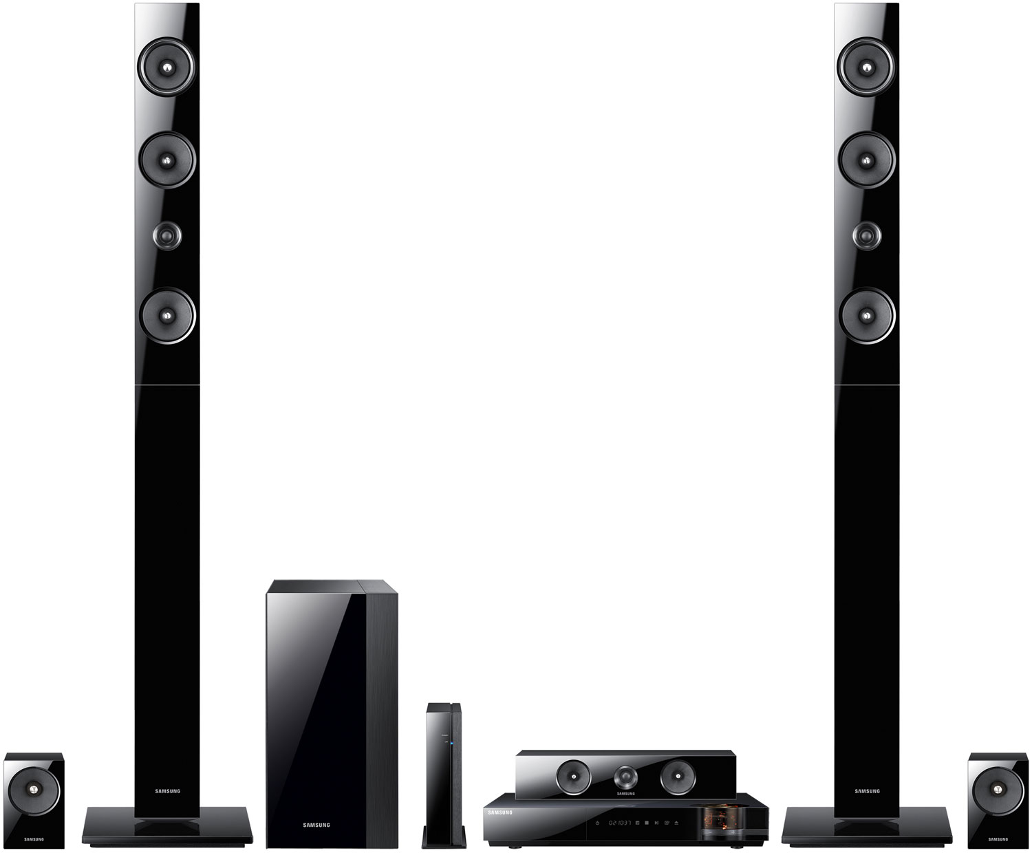 Samsung 7 1 Channel 3d Blu Ray Home Theater System Ht