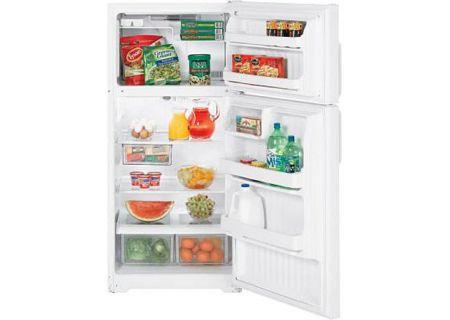 GE - HTH17GBCWW - Top Freezer Refrigerators