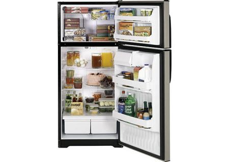 GE - HTM17CBTSA - Top Freezer Refrigerators