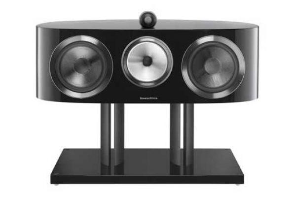 Large image of Bowers & Wilkins 800 Series Diamond Gloss Black Center Channel Speaker - FP37532