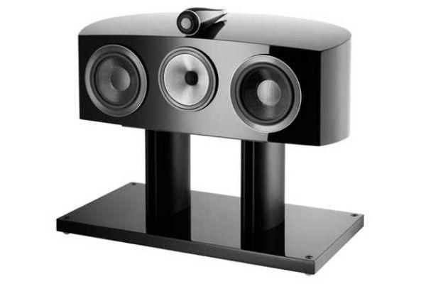 Large image of Bowers & Wilkins 800 Series Diamond Gloss Black Center Channel Speaker - FP37524