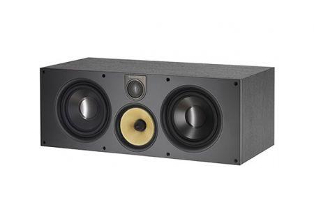 Bowers & Wilkins 600 Series Black Ash 3-Way Center Channel Speaker - HTM61S2