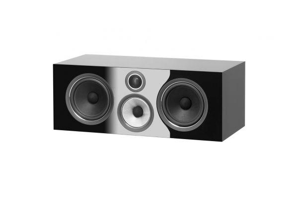 Bowers & Wilkins 700 Series Gloss Black 3-Way Center Channel Speaker - FP38946