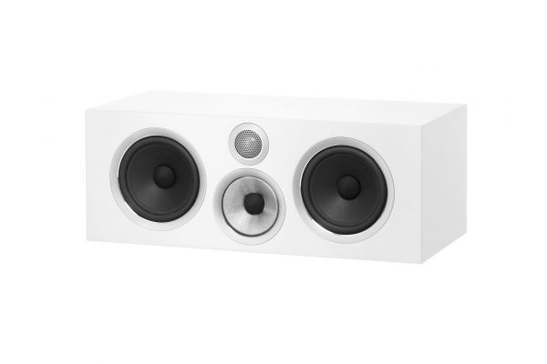 Large image of Bowers & Wilkins 700 Series Satin White 3-Way Center Channel Speaker - FP39527