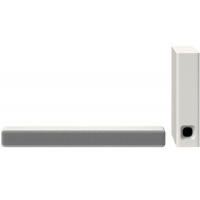 Sony White 2.1 Ch. Compact Sound Bar With Bluetooth