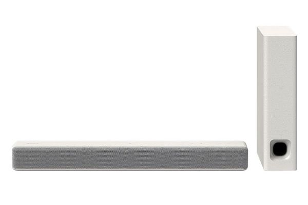 Sony White 2.1 Ch. Compact Sound Bar With Bluetooth - HT-MT300W