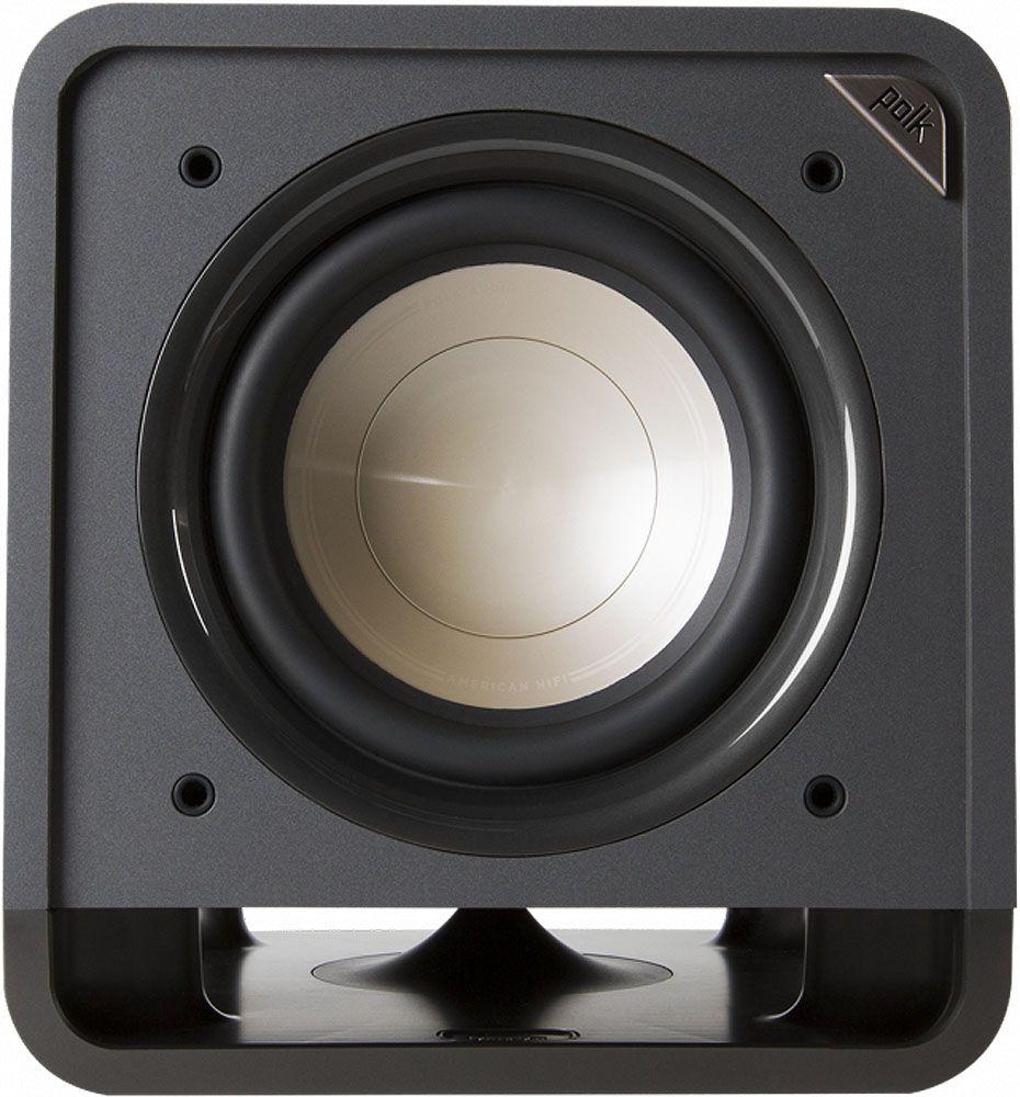 Polk Audio Hts 10 Powered Classic Brown Walnut Subwoofer Am6416 A Car Wiring Kits