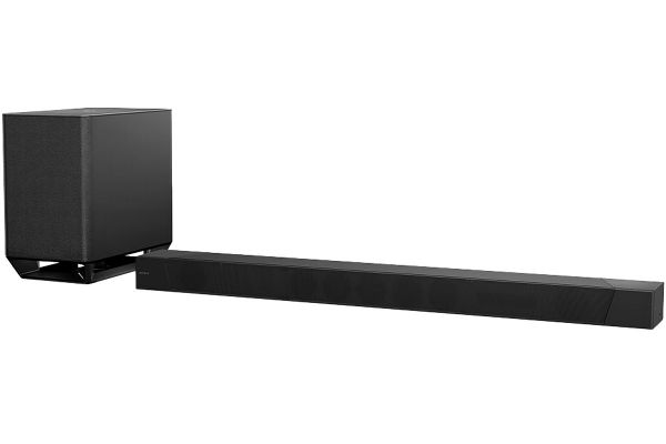Large image of Sony Black 7.1.2 Dolby Atmos Sound Bar With Wireless Subwoofer - HT-ST5000