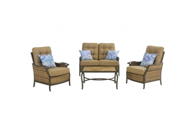Hanover - HUDSONSQ4PC - Patio Seating Sets