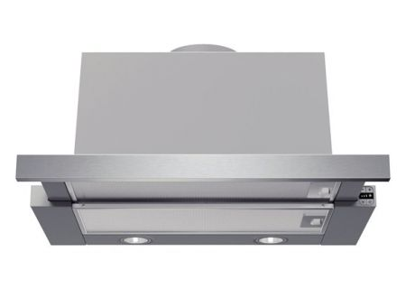 """Bosch 24"""" Stainless Steel Benchmark Series Pull-Out Wall Hood  - HUI54451UC"""