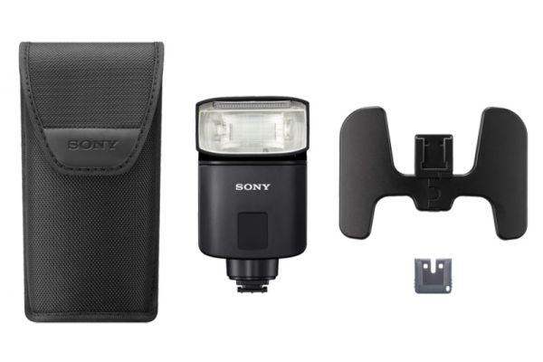 Large image of Sony MI Black HVL-F32M External Flash - HVLF32M
