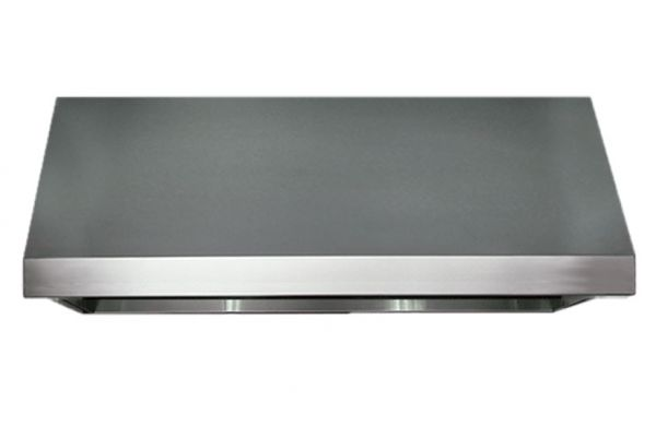 "Large image of Dacor Professional 36"" Stainless Steel Pro Range Wall Hood - HWHP3618S"