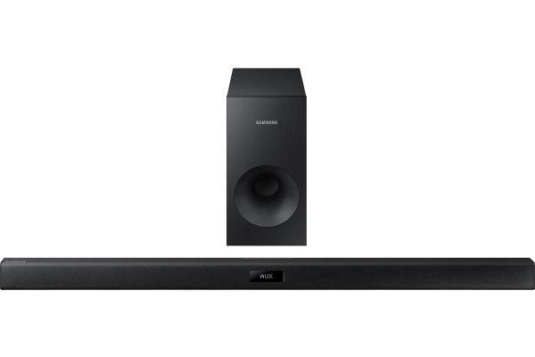 Large image of Samsung Black 2.1 Channel Sound Bar Audio System - HW-J355/ZA