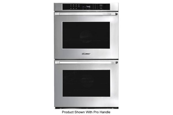 """Dacor Heritage 30"""" Stainless Steel Flush Style Double Wall Oven - HWO230FS"""