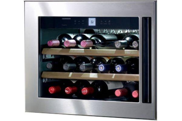 Large image of Liebherr Integrated Wine Cabinet 18 Bottle Single Zone - HWS-1800