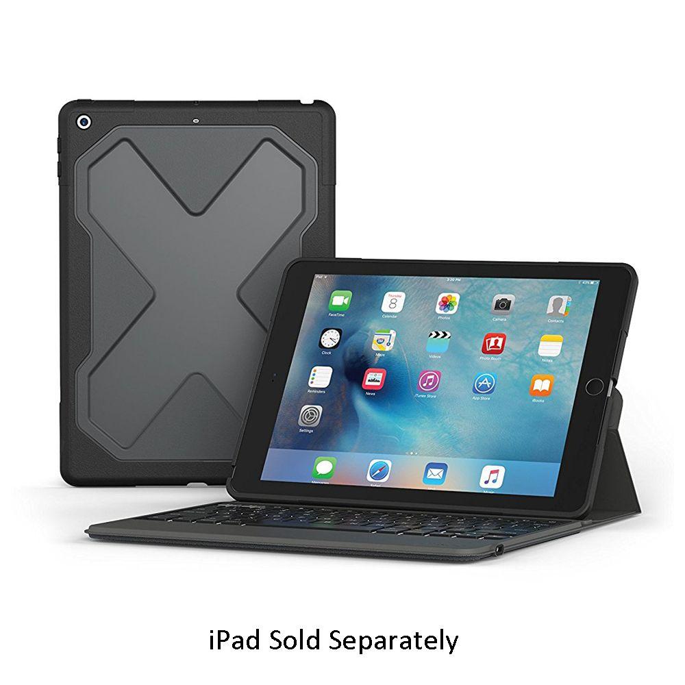 Zagg Rugged Wireless Keyboard Apple 9 7 Quot Ipad I10rmkbb0