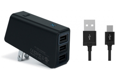 iLuv - IAD235BLK - Wall Chargers & Power Adapters